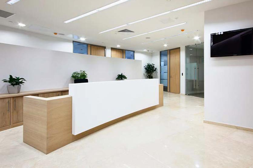 Kad design mckinsey company for Office fit out companies